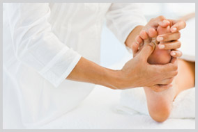 The best foot massage in Beverly Hills