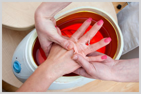 Paraffin treatments in Los Angeles
